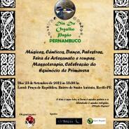1ª Dia do Orgulho Pagão – Pernambuco