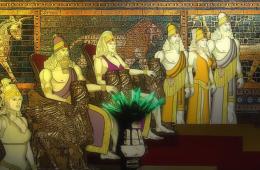 Ópera Rock em desenho animado, conta a mitologia suméria, à qual a bíblia foi inspirada.