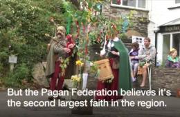 """Paganismo é a """"segunda fé mais popular"""" no sudoeste da Inglaterra"""